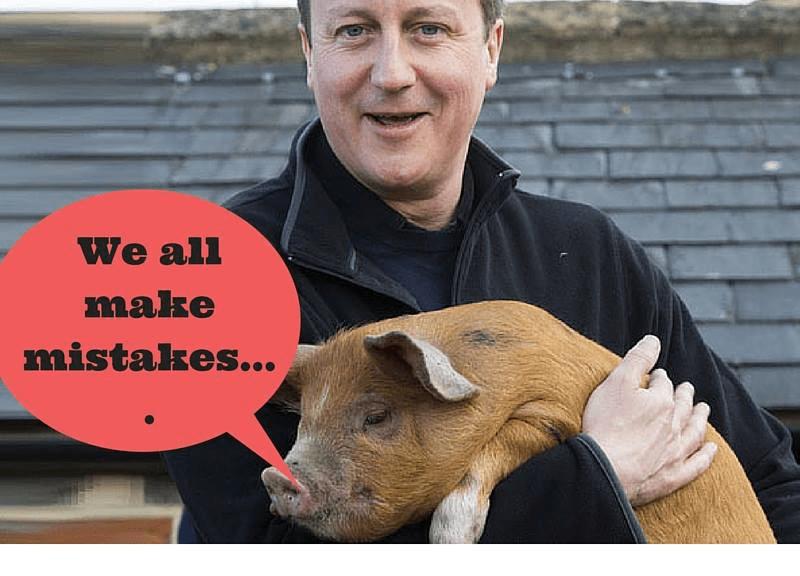 Best Funny David Cameron Pig Memes