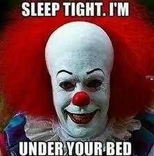 Halloween clown memes