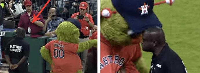 Mascot Guard Prank Fail Sens The Crowd Wild