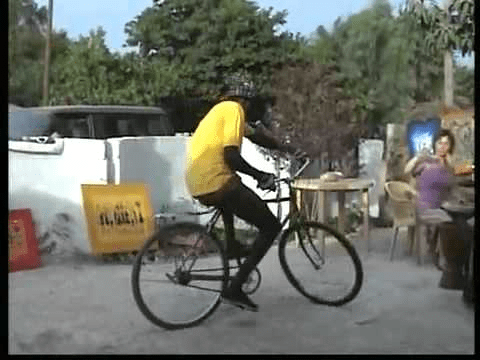 African bicycle dancer has mad skills. Check them out the video on Slapwank!