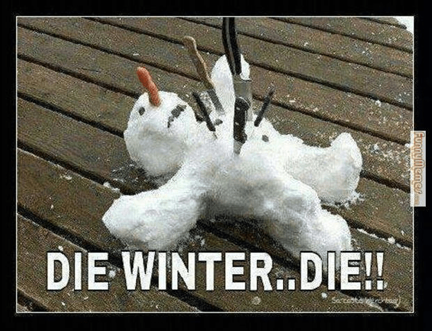 The Best Funny Winter Memes Collection - Winter Sucks!