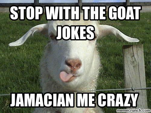 Goat jokes - A collection of really bad goat jokes!