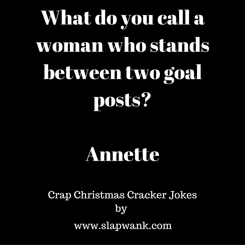 Crap Christmas Cracker Jokes