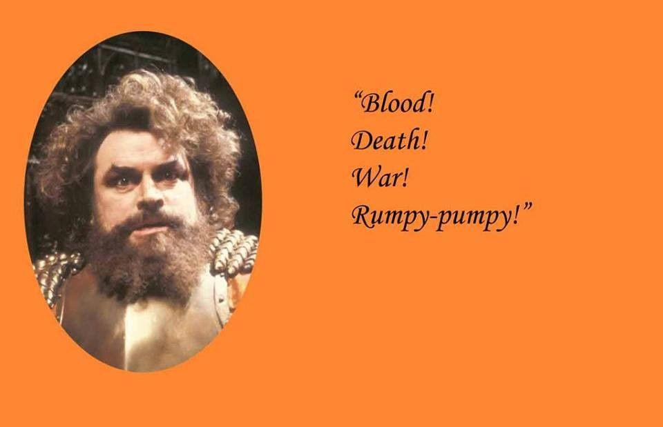 Brian Blessed Blood Death War