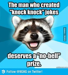 The world's worst knock knock jokes only at Slapwank!