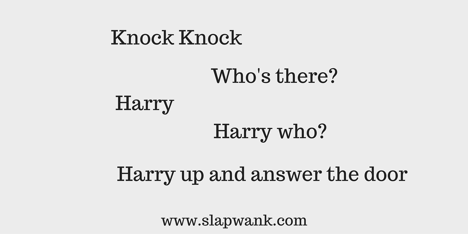 A collection of the world's worst Knock knock jokes. What do you think to this one?