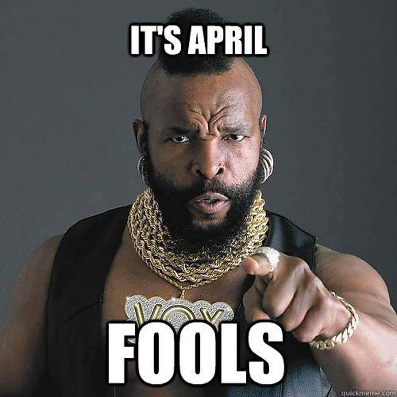 The best April Fools day Memes