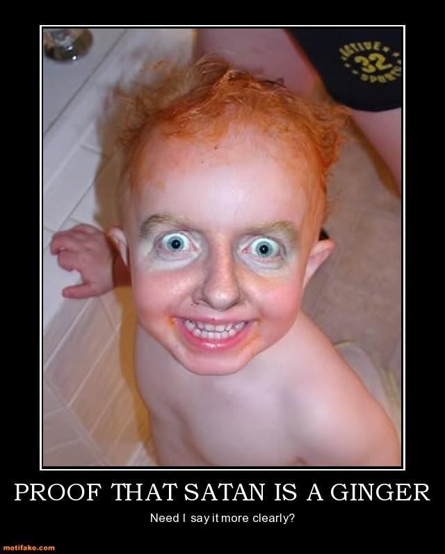 GInger satan meme