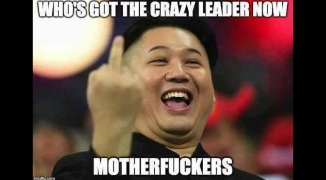 Who's got the crazy leader now?