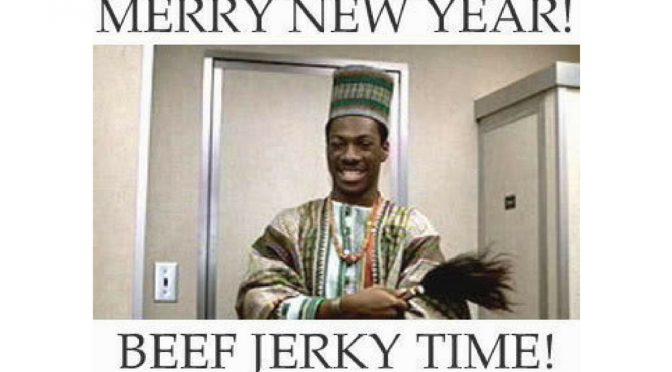 Merry New Year - It's Beef Jerky Time!