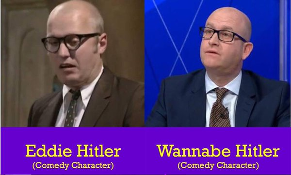 Paul Nuttall Looks Like Eddie Hitler From Bottom