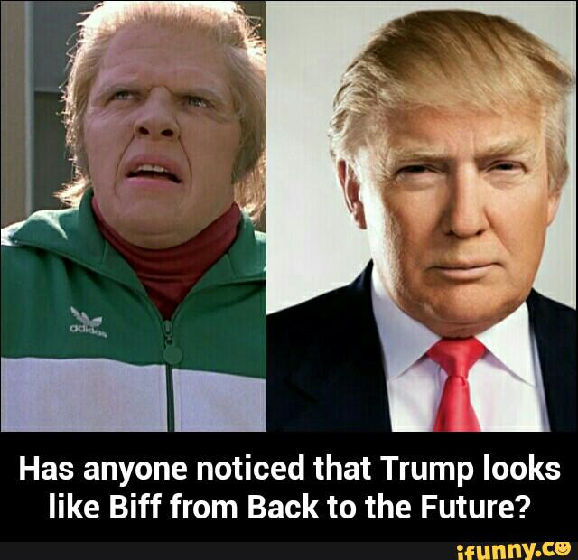 The resemblance between Biff and Trump is uncanny