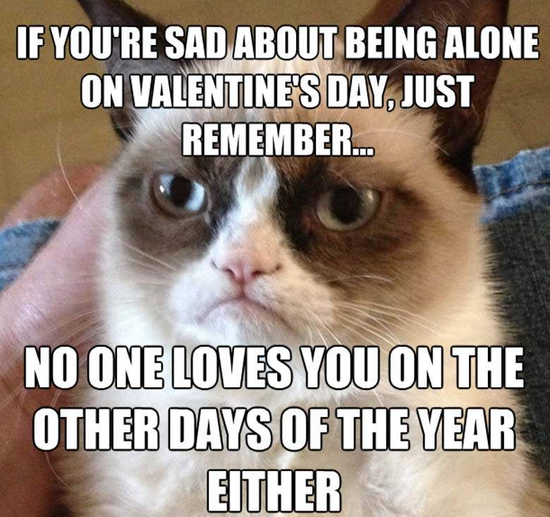 Don't be sad valentine