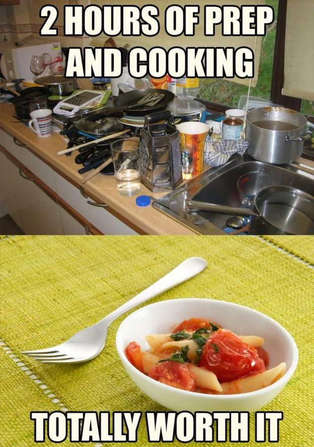 Funny Cooking Memes about meal prep