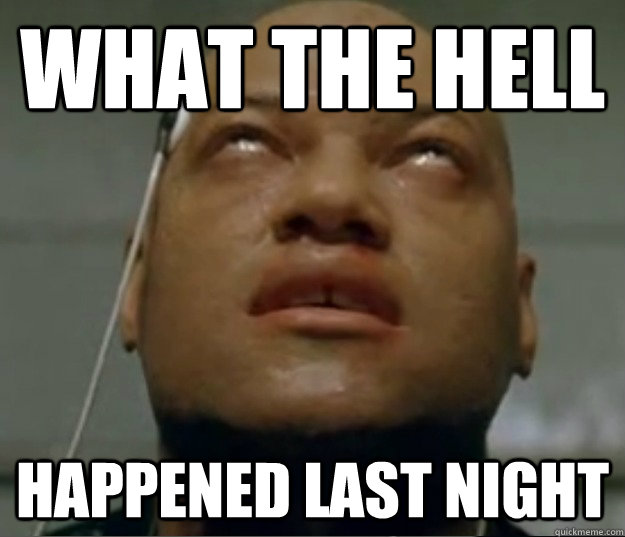 Funny Hangover Memes