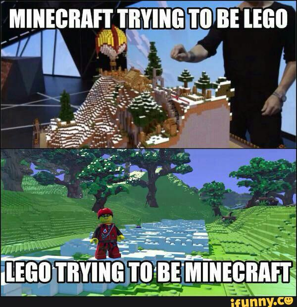 Funny Minecraft Memes lego
