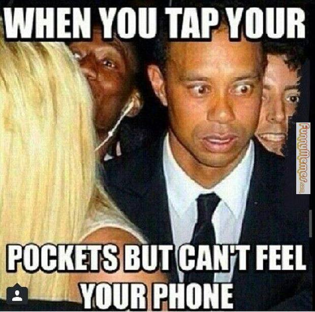 Funny Phone Memes about phone in the pocket