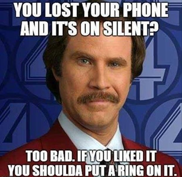 Funny Phone Memes about lost phone
