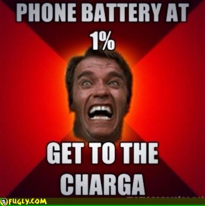 Funny Phone Memes about charging