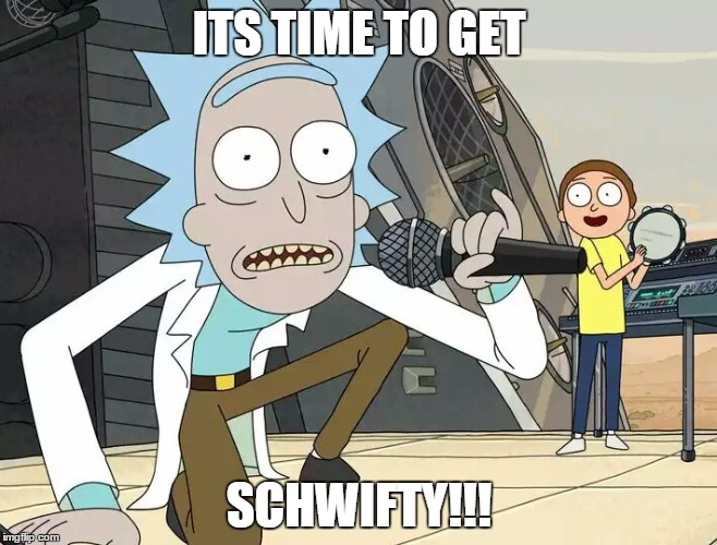 Funny Rick and Morty Memes Schwifty