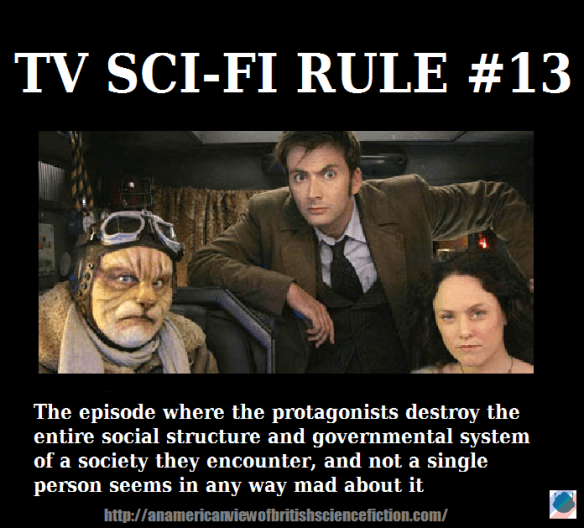 Funny Sci-Fi Meme about tv eseries