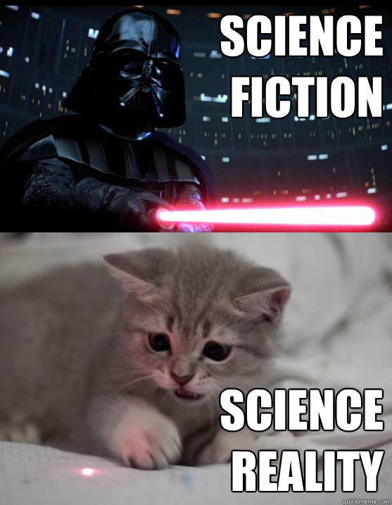 Funny Sci-Fi Memes about science reality