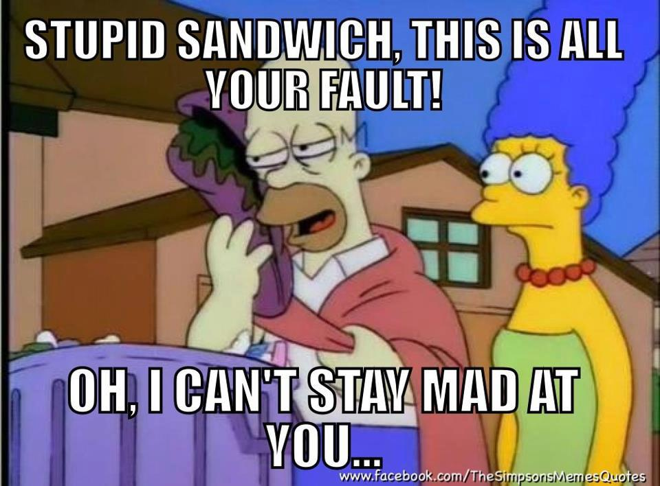 Funny Simpson Memes with Homer and Marge