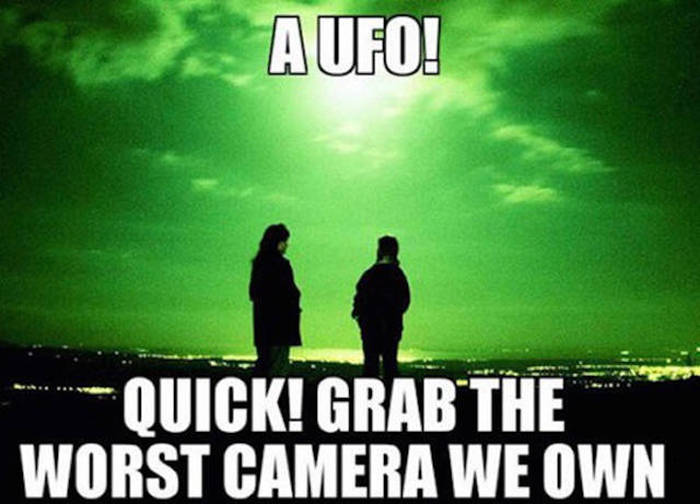 Funny UFO Memes