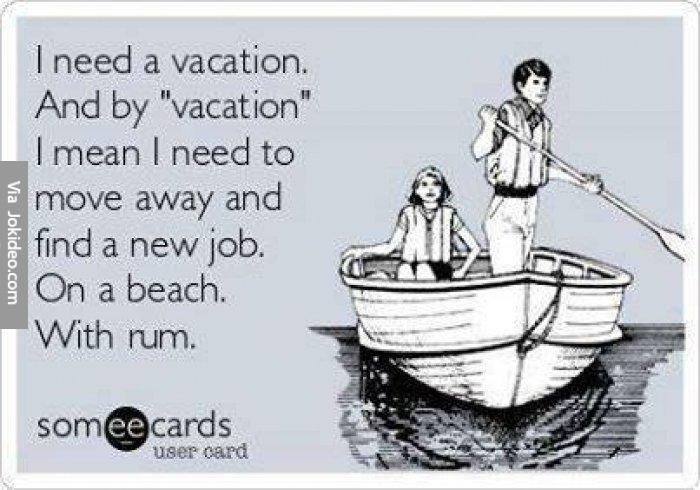 Funny Vacation Memes