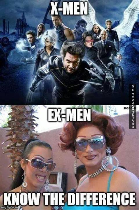 Funny X-Men Memes about gays
