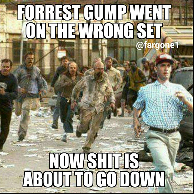 Forrest Gump Funny Quotes: The Best Zombie Memes Online