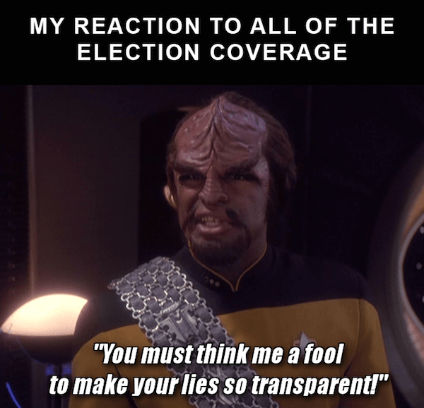 star trek meme with Worf