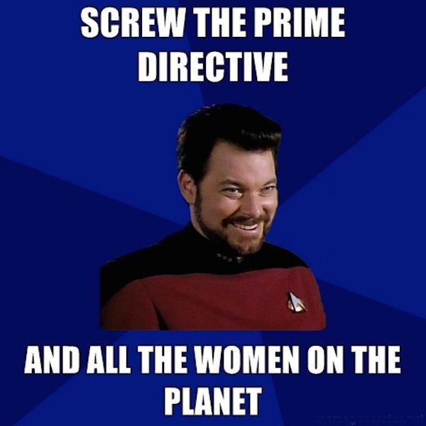 star trek meme Commander William