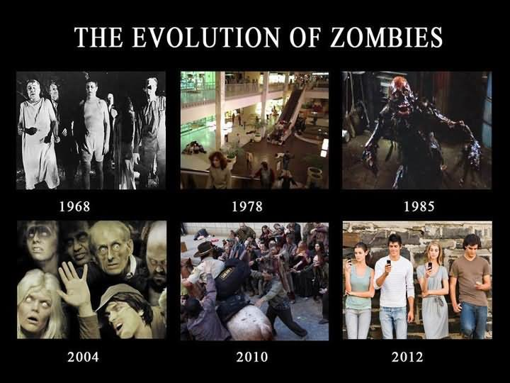 The Evolution of Zombies