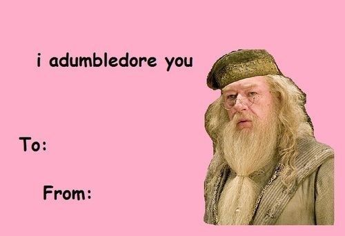 Another Harry Potter Valentine Meme - This one you could print out and send to someone!