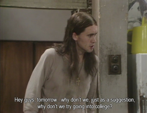 Neil from the Young Ones - Let's go to college