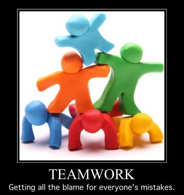 Teamwork sucks
