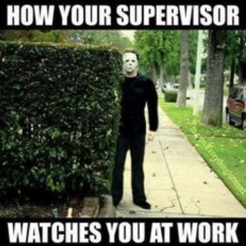 Your supervisor at work