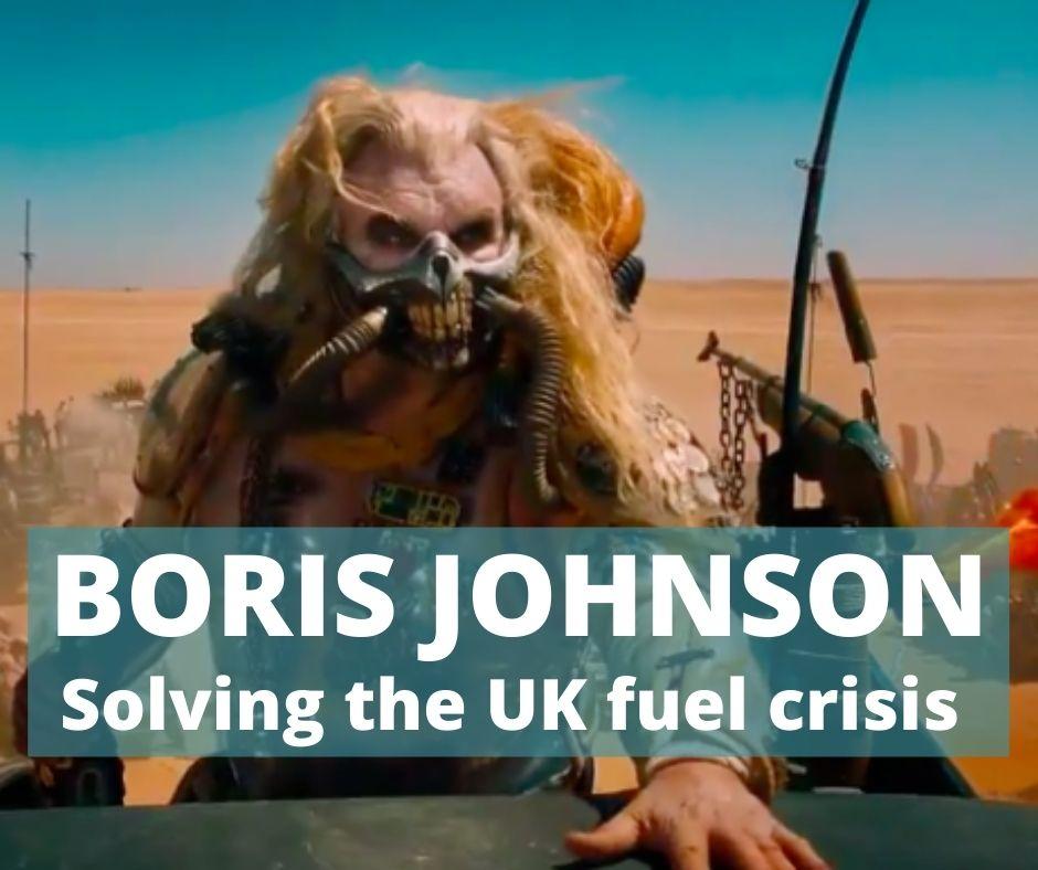UK Fuel Shortages 2021 funny memes