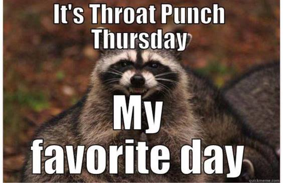 thursday work meme