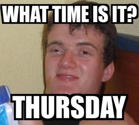 no work thursday