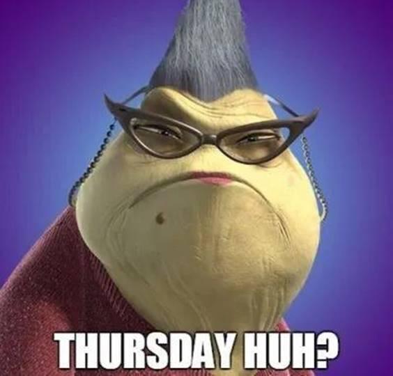 is it thursday