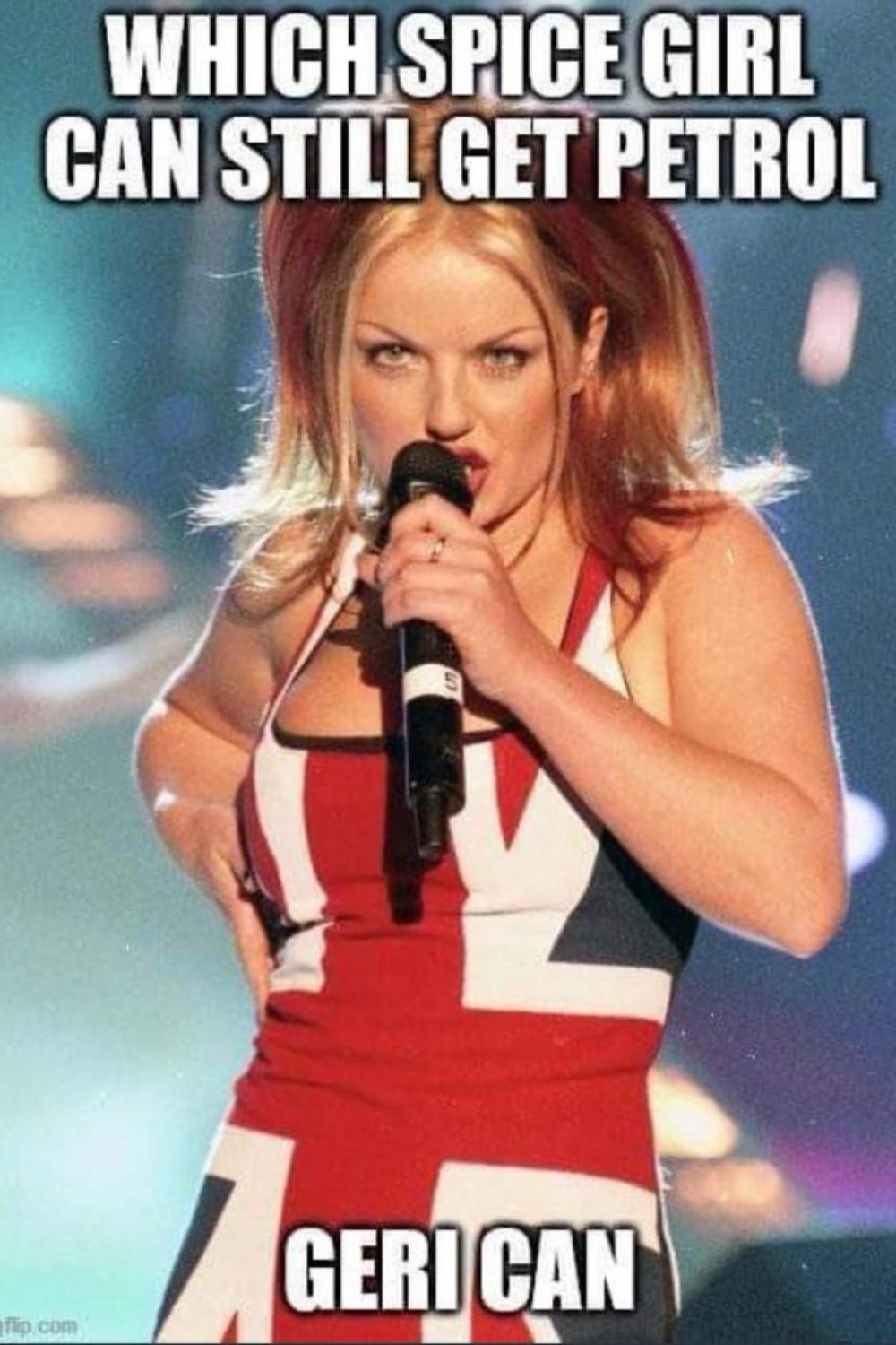 Which Spice Girl can still get petrol?