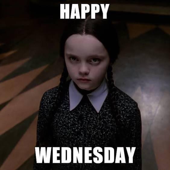 sarcastic wednesday