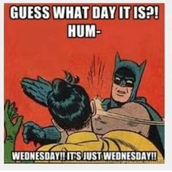 wednesday meme funny