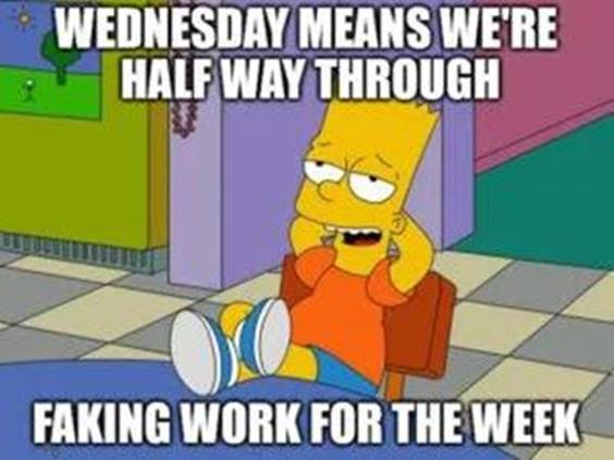 memes about wednesday
