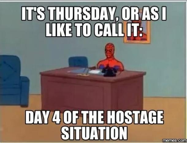 thursday funny meme