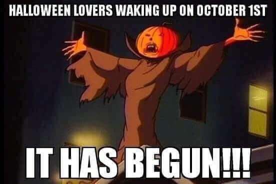 Happy October 1st